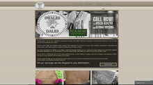 Recent website for local stonemason