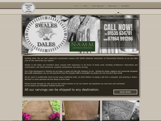 Recent website for local stonemason