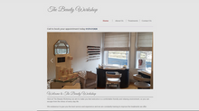 The Beauty Workshop redesigned website
