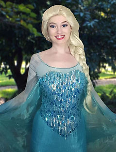 elsa anna frozen princess party houston fairytale headquarters a charmed affair fairy dust entertainment