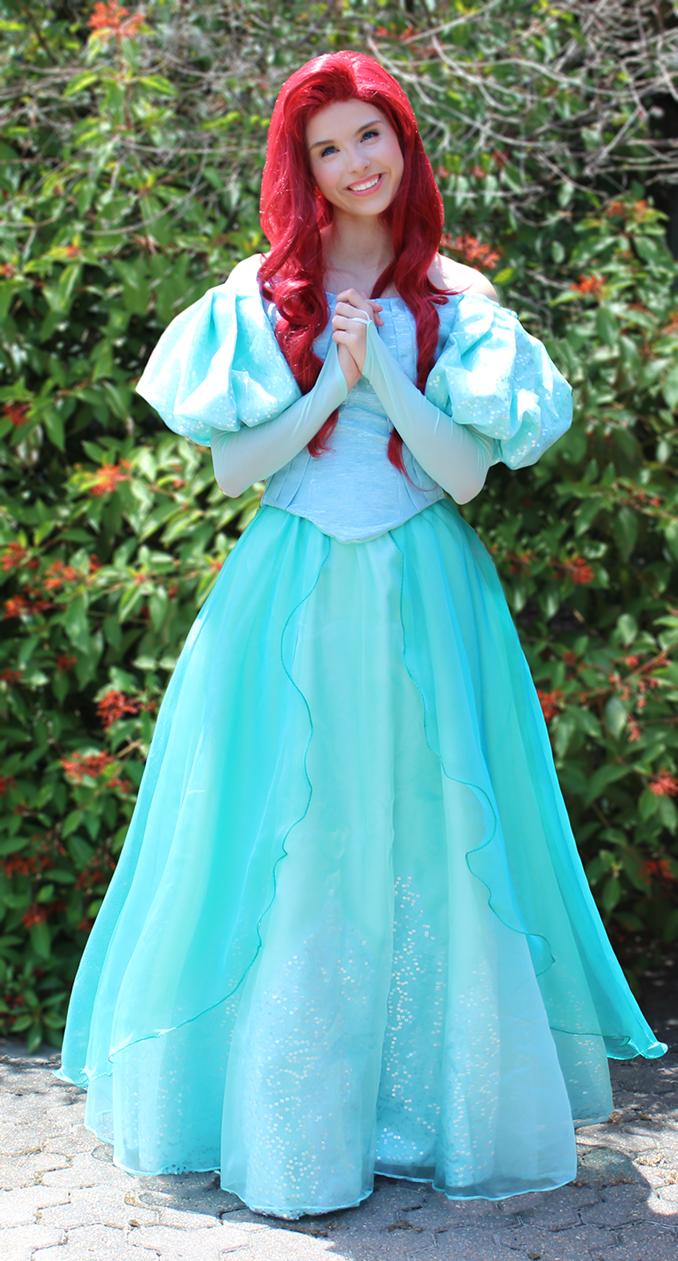 Little Mermaid (ballgown option)