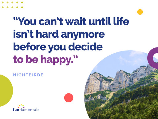 Quote: Intentional Happiness