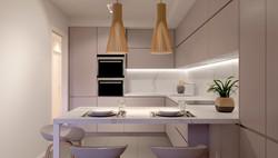 Cocina espaciosa