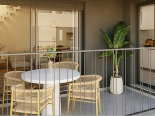 La mitad de las viviendas de obra nueva que se compran disfruta de espacios al aire libre.