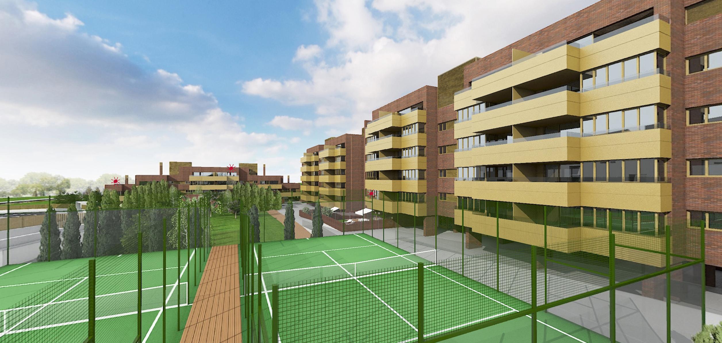 Zona deportiva Allegra Living