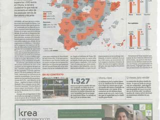 El precio de la vivienda libre despega en Alava con una subida del 9,5%, la mayor de España