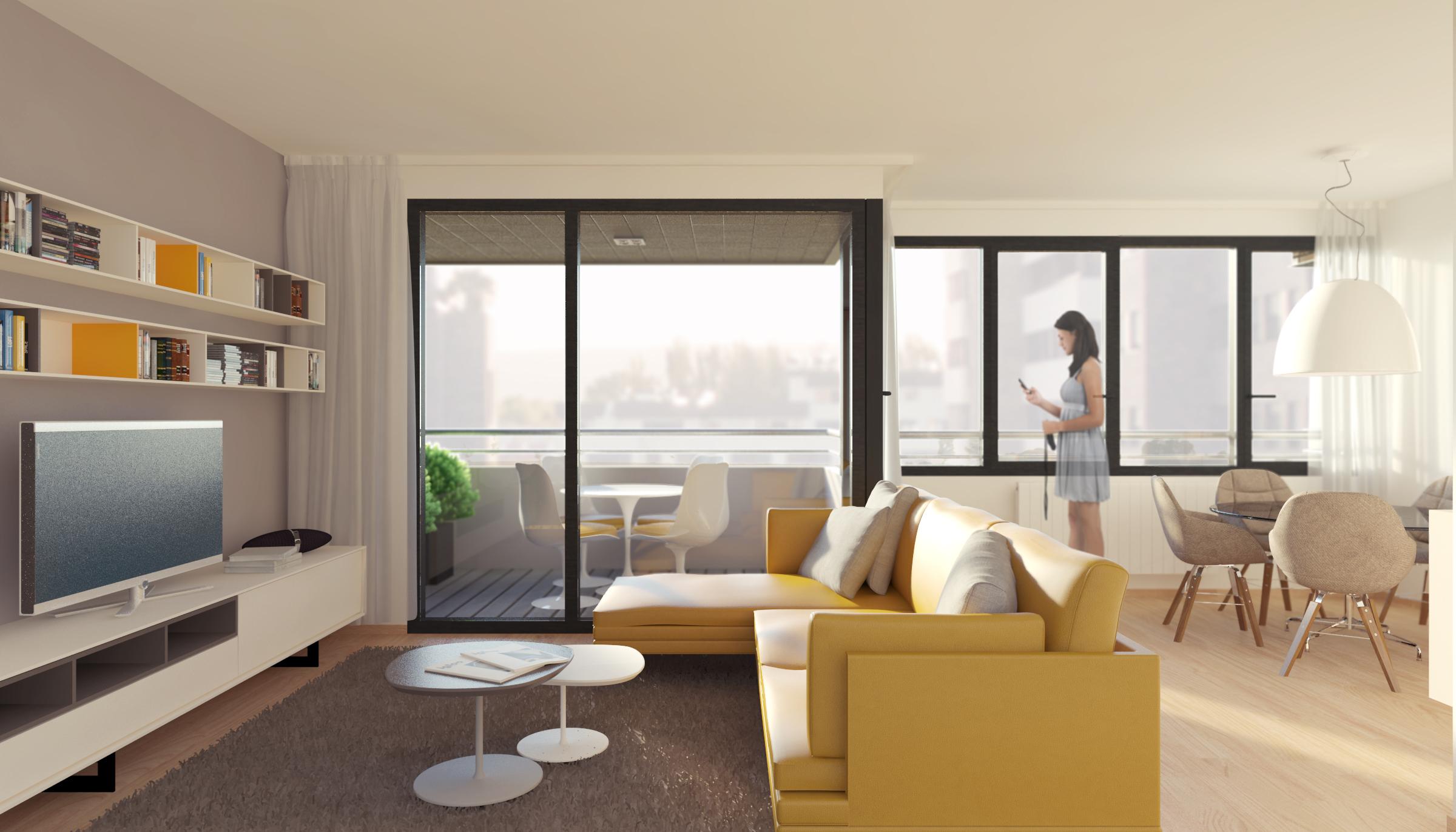 salon 03 dormitorios
