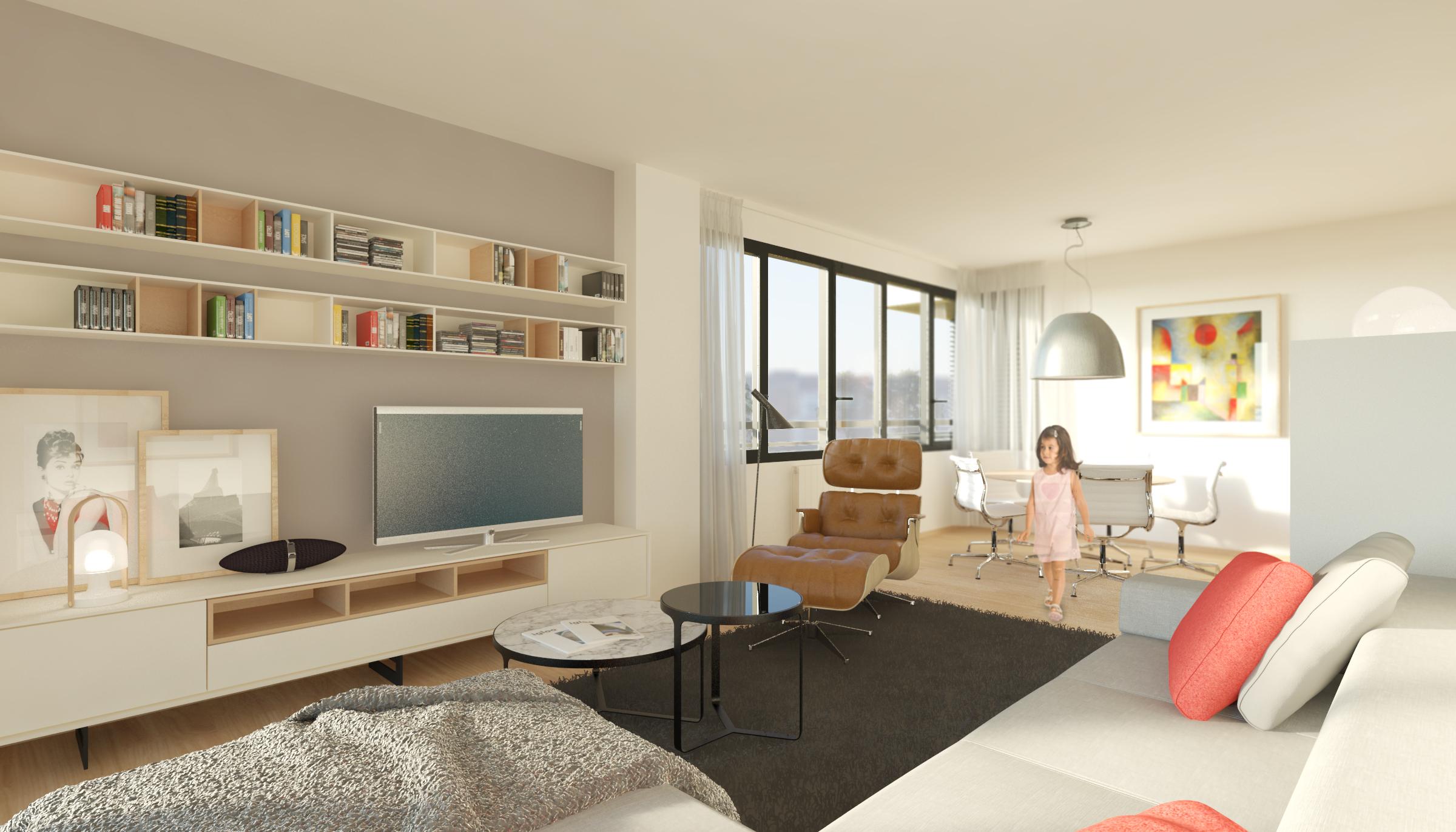 salon 04 dormitorios