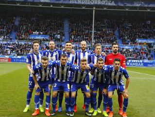 Vivantis con el Deportivo Alavés.