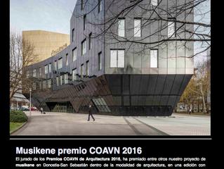 GAZ arquitectos Premio COAVN 2016