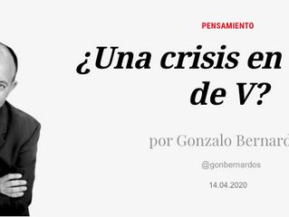 ¿Una crisis en forma de V?
