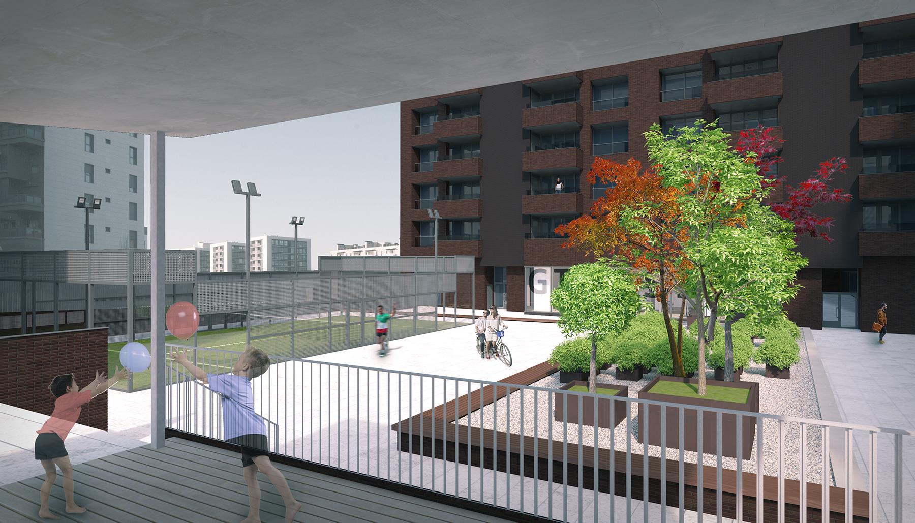 Urbanización en Vitoria-Gasteiz