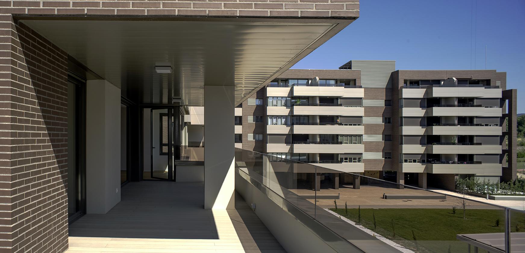 Viviendas con grandes terrazas