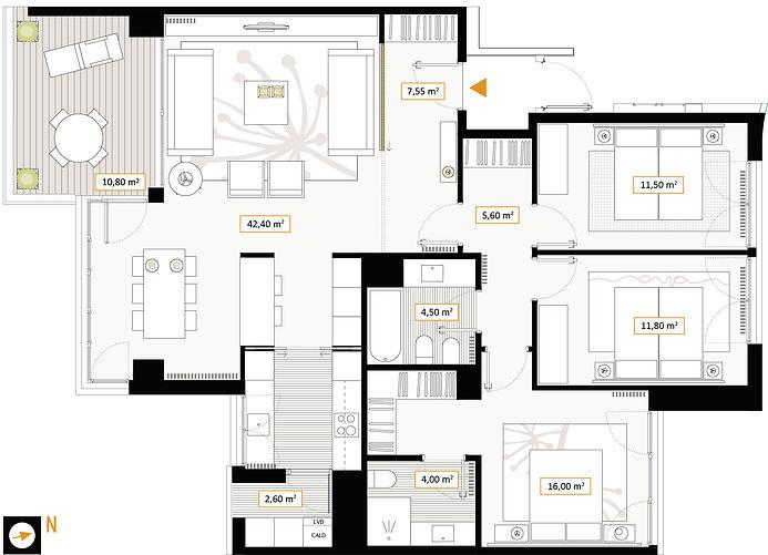 Vivienda 3 dormitorios Vitoria-Gasteiz