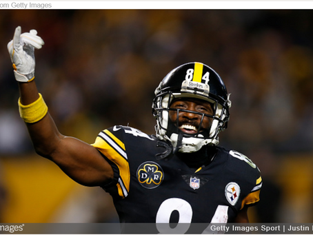 Several Suitors for Antonio Brown, Tentative Reinstatement Following Week 8