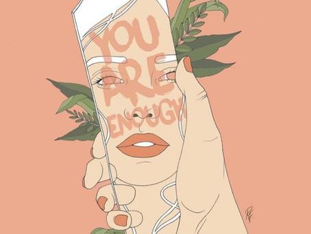 Loving You Gave Me Anxiety, Loving Myself Gave Me Freedom - by Shahnila Laghari