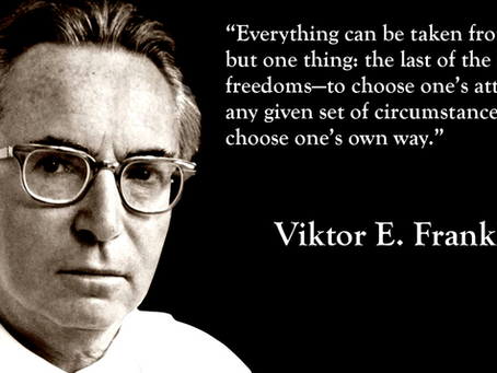 Open Letter To Victor Frankl