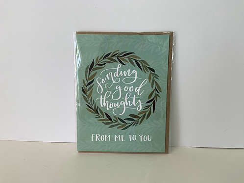 Greeting Card / Sending Good Thoughts