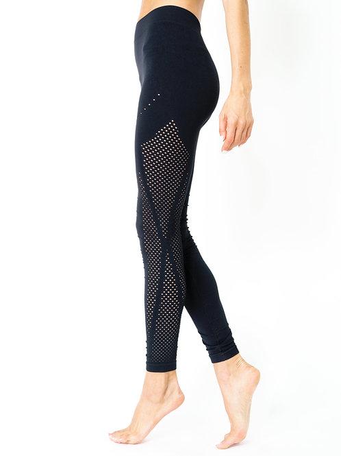 Milano Seamless Legging - Black