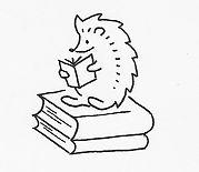 Hedgehog on Book stack_edited.jpg