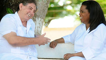 Oprah and John of God in Brazil