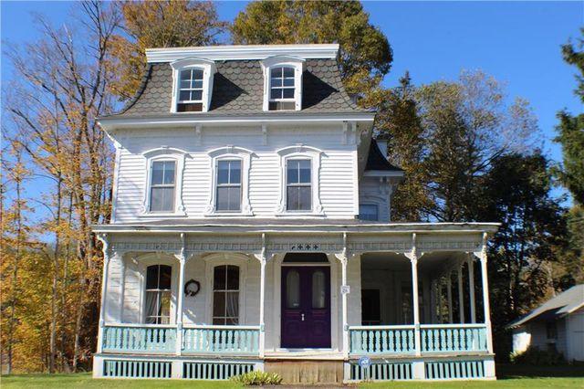 Historic home exterior Friendship, NY