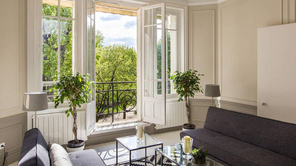 Marriott's European pilot program extends to Paris, including this three-bedroom home.
