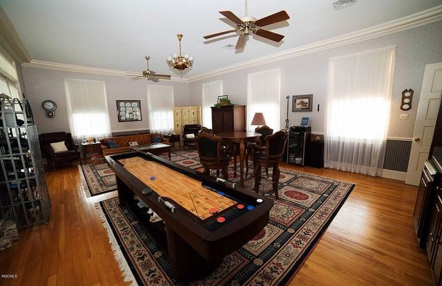 Monroe House game room