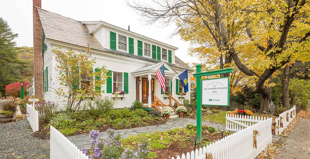 The Woodstocker Bed and Breakfast in Vermont is owned by Isabelle Chicoine and Karim Houry.