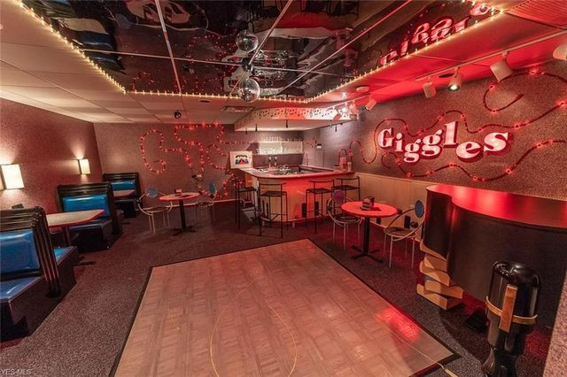 Basement disco bar