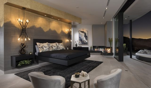 Master bedroom, New American Home 2019