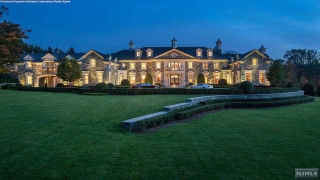 NJ mansion exterior