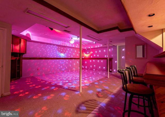 Basement disco club