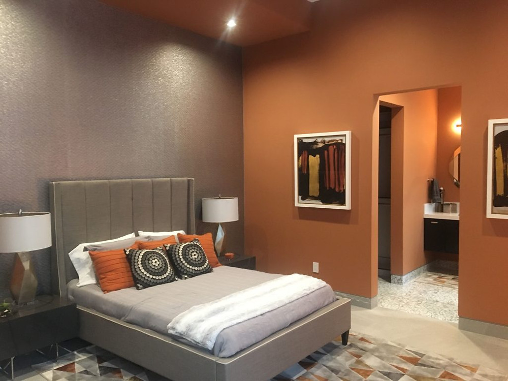 Bedroom, New American Home 2019