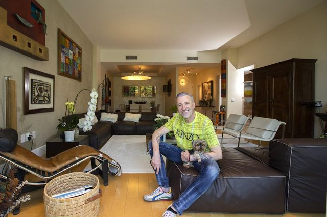 Juerg Degenmann bought this townhome in Sunny Isles Beach after moving to Miami from Venezuela.