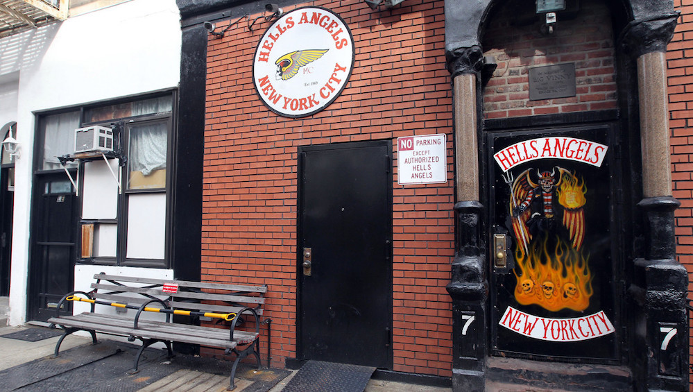 Hells Angels headquarters in the East Village
