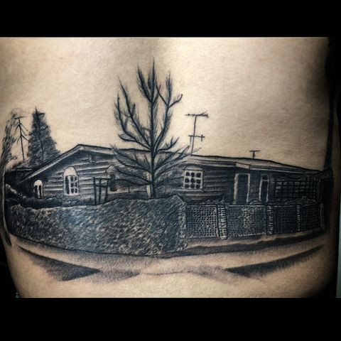 house tattoo