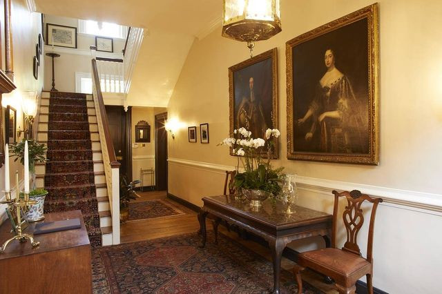Built in 1732, the President's House is the country's oldest official college presidential residence, according to the College of William & Mary.