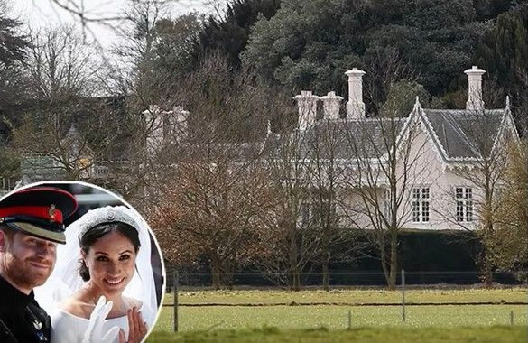Prince Harry and Meghan Markle's new home