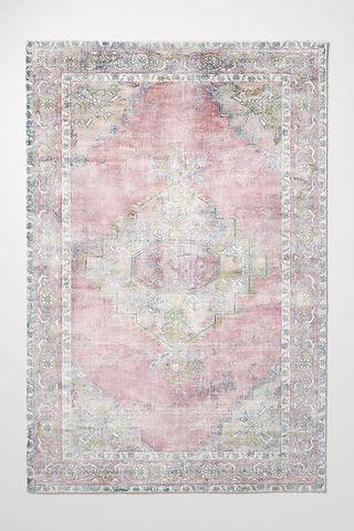 Ruby rug