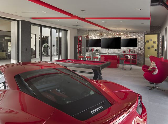 Man cave, New American Home