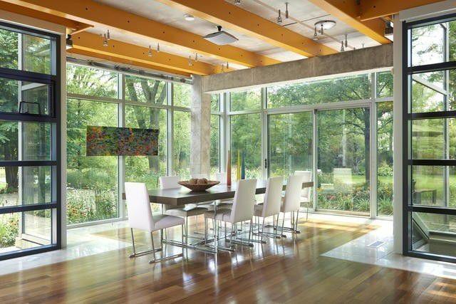 Illinois glass house