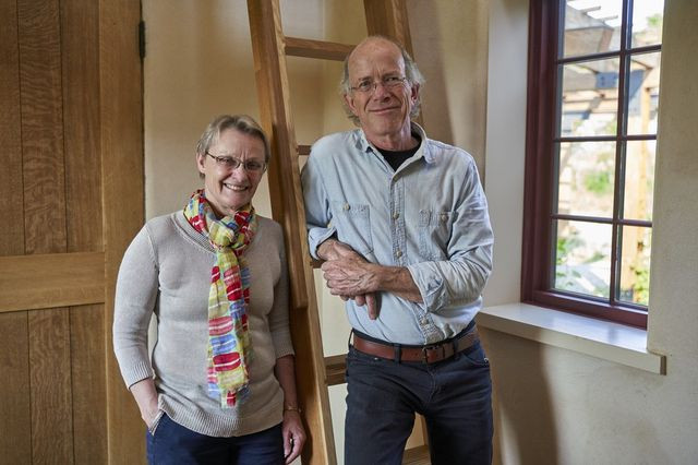 Marti and Tom Burbeck designed a four-bedroom home in Ann Arbor, Mich. that contractors estimate cost $3.5 million to build, aiming to live in as natural and healthy an environment as possible.
