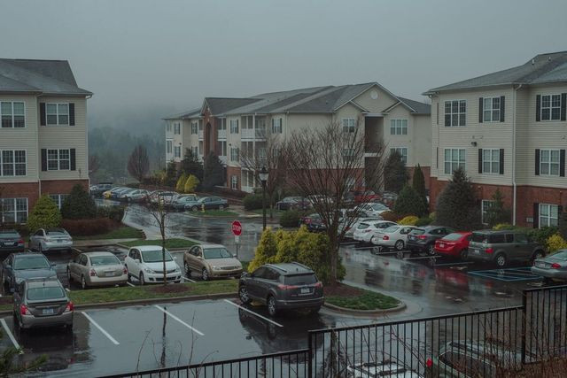 Alex Ruiz and Stephanie Johnson live at this apartment complex in Asheville, N.C. 'Lower homeownership for young adults means lower economic growth,' says Freddie Mac's chief economist.
