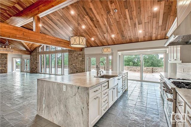 Kitchen in modern home sold by Duggars