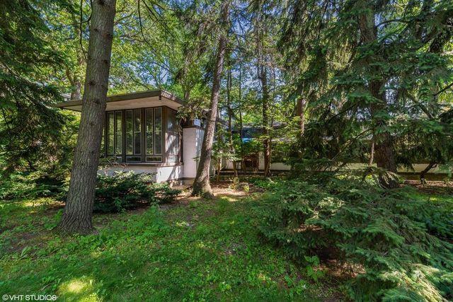 Frank LLoyd Wright house in Wilmette, IL