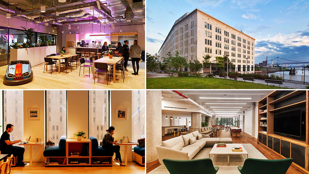 co-working spaces in apartment buildings