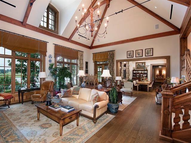 Living room in Westlake, TX
