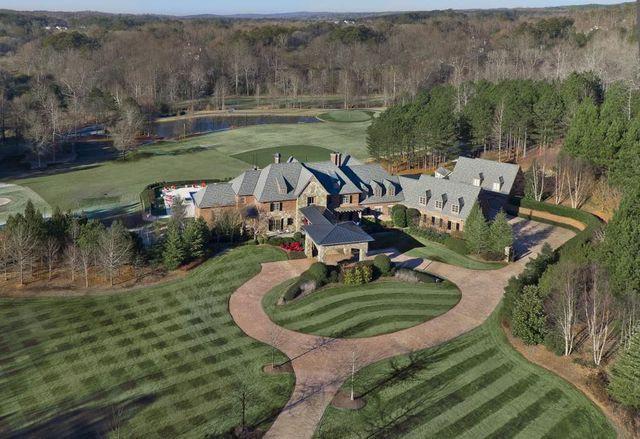 Mansion exterior Milton, GA