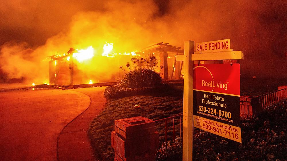 Carr wildfire in Redding, CA